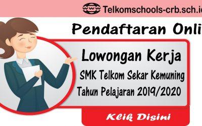 Lowongan Kerja SMK Telkom Sekar Kemuning Cirebon