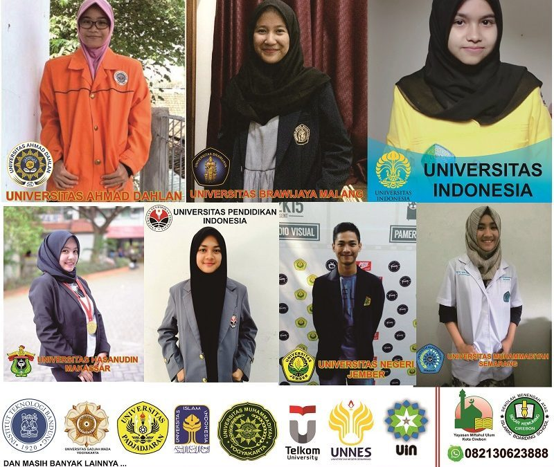 Sebaran Alumni SMA Sekar Kemuning 2018
