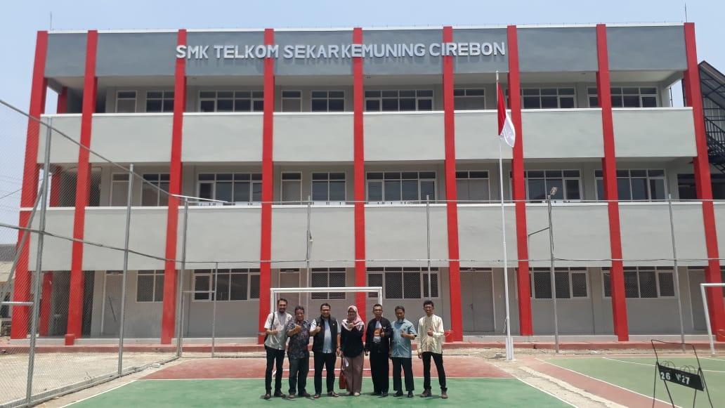 Kunjungan Telkom CDC