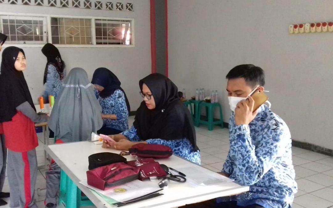 Cek kesehatan dari Puskesmas Majasem Kota Cirebon