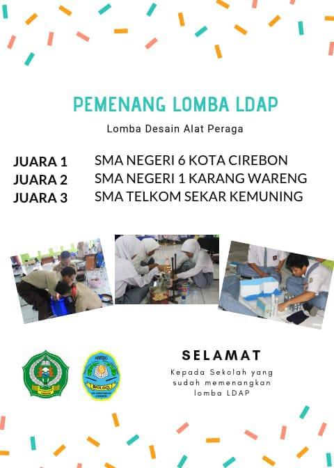 Juara 3 Lomba Alat Peraga se-Jawa Barat