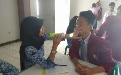 Pemeriksaan Kesehatan Berkala SMK Telkom Sekar Kemuning Cirebon