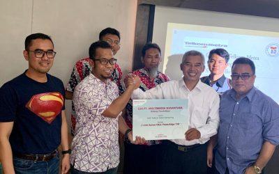 CSR PT. Multimedia Nusantara untuk SMK Telkom Sekar Kemuning Cirebon