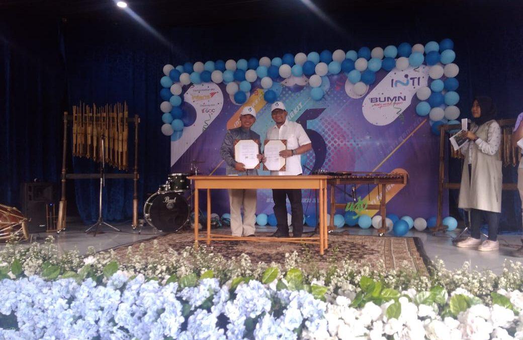 SMK Telkom Sekar Kemuning Cirebon menjalin kerjasama dengan PT. INTI