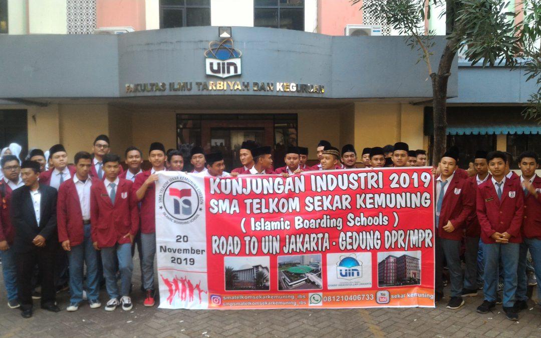 Kunjungan Industri SMA Telkom Sekar Kemuning ke Gedung DPR/MPR RI dan UIN Jakarta