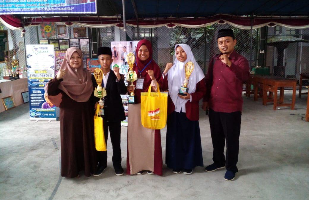 SMP Telkom Sekar Kemuning Juara 1 PENTAS PAI Tingkat Kota Cirebon