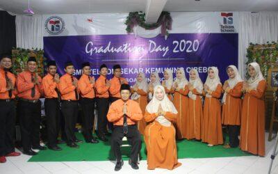 SMP Telkom Sekar Kemuning Cirebon tetap mengadakan Graduation Online