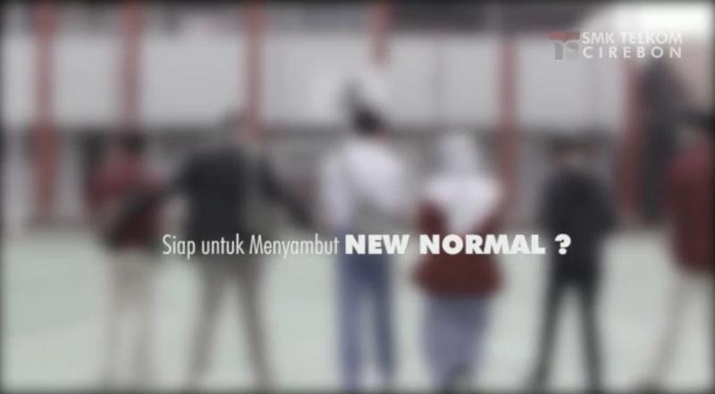 "SMK Telkom Cirebon Siap menyambut era ""NEW NORMAL"""