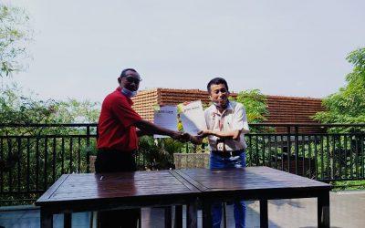 MoU Yayasan Miftahul Ullum (Telkomschools Cirebon) dengan PT. TELKOM WITEL CIREBON